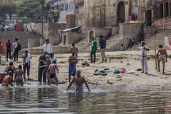 Varanasi (cristianfranco) Tags: varanasi benares india ganges ganga ganha river people indian sacred water asia hindu hinduism travel trip world