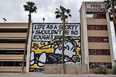 But as the world turned, I learned life is hell (naromeel) Tags: lasvegas usa graffiti