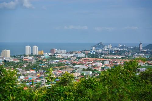 View from Hin Lek Fai over Hua Hin