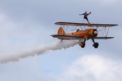 DSC_9492 copy (quintinsmith_ip) Tags: aerosuperbatics flyingcircus 'superstearmans stearmans plane formation flight smoke smoking orange white wingwalkers sunderland 2018