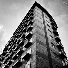 Cages (Pedro Nogueira Photography) Tags: building urban blackandwhite monochrome iphoneography iphonex pedronogueira pedronogueiraphotography photography architecture sky skyscraper
