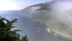 Foggy Panorama (Joe Josephs: 3,166,284 views - thank you) Tags: bigsurcalifornia california californiabeaches californialandscape pacificcoasthighway pacificocean travel travelphotography westcoast fog foggy foggyweather outdoors