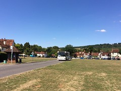 Sunday 32 at Brockham (bobsmithgl100) Tags: busesexcetera hw54 btv hw54btv mini pointer dart dennis plaxton bus route32 middlestreet brockham surrey