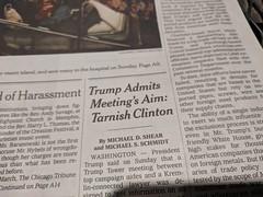Headline (earthdog) Tags: 2018 headline text newspaper newsprint word newyorktimes