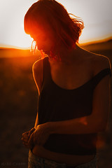 sunset (Studio Hors-champ) Tags: sun backlit sunset back lit dawn lens flare silhouette dramatic sky dreamy evening dusk sunrise water light summer outdoors beautiful girl manosque