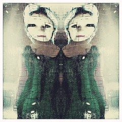 Only love can break your heart 💔 (lorenka campos) Tags: melancholy green conceptual popart modernart artdigital art selfportrait portrait