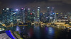Marina Bay by night (dichiaras) Tags: singapore asia equator architecture skyscraper marinabay marinabaysands night nikon cityscape