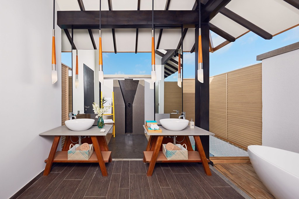 Overwater Villa - Bathroom