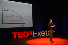 Patrick Grant speaking at TEDxExeter 2018 at Exeter Northcott Theatre (TEDxExeter) Tags: tedxexeter exeter tedx tedtalks ted audience tedxevent speakers talks exeternorthcott northcotttheatre devon crowd inspiring exetercity tedxexeter2017 fashion tailor communityclothing england eng