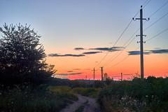 rural landscape on a summer evening after sunset (uiriidolgalev) Tags: rural landscape summer evening after sunset