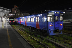 JR Kyushu KiHa 200-1012, Nagasaki (Howard_Pulling) Tags: japan rail railway zug bahn train trains trainsinjapan japanese howardpulling photo picture gare