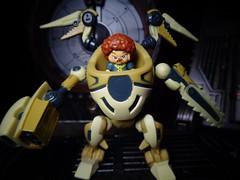 Stache (ridureyu1) Tags: ready2robot robot mecha mech pilot toy toys actionfigure toyphotography sonycybershotsonycybershotdscw690