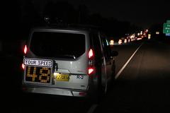 MPD speed van (OregonDOT) Tags: medford i5 bridge construction oregondot odot workzone speed lawenforcement