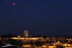 Eclipse de Luna (Luis Cortés Zacarías) Tags: zamora catedral luna castillo total eclipse