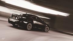 Lexus RC F (at1503) Tags: motion blur japan japanese lexus rcf lexusrcf sportscar speed blackandwhite bw light shadows wheels reflections black white granturismo gtsport granturismosport motorsport game racing gaming ps4
