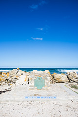 Cape Agulhas (Marcello Iaconetti Photography) Tags: capeagulhas africa sudafrica faro lighthouse clouds cielo nuvole me scogli mare ocean wheretheoceansmeet themostsouthernmostpointofafrica sun