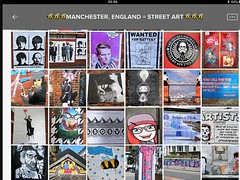Manchester Street art collection = please see my album for hundreds more🐝🐝 (rossendale2016) Tags: quarter northern wall adhered stuck poster eagles starr ringo mccartney paul harrison george lenin art street manchester