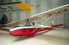 Slingsby Cadet TX.3 XN239 02 Duxford 04.07.1998 (Victor Vulcan) Tags: slingsbycadettx3 xn239 duxford aircraft airplane plane aeroplane glider
