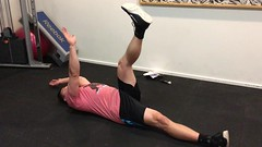 Dead Bug Exercise Video (personaltrainertoronto) Tags: exercise workout fitness fit athlete athletic muscle bodybuilder bodybuilding personal trainer training video abs dead bug
