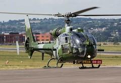 XX405 Aerospatiale SA341B Gazelle AH.1 @ Exeter Airport, Devon. (PS Photogaraphy) Tags: xx405 aerospatiale sa341b gazelle ah1 exeter airport devon army british military helicopter chopper rotor taxi takeoff dartmoor airfield airplane plane avgeeks avgeek