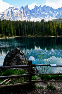 Karersee Lake - Spring Version - Different POV