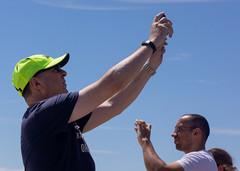 Two photographers (marcn) Tags: beach ma revere reverebeach sandsculpture massachusetts unitedstates us
