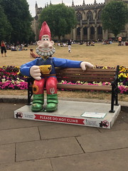 Wallace - Gnome Sweet Gnome (charliejb) Tags: gromitunleashed2 wallaceandgromit aardman 2018 bristol trail sculpture charity gnomesweetgnome wallace