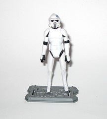 arf trooper star wars the clone wars cw18 blue black packaging basic action figures 2010 hasbro 2d (tjparkside) Tags: arf trooper troopers star wars clone blue black packaging card cardback cw18 cw 18 2010 hasbro basic action figure figures soldier republic army display stand base galactic battle game advanced reconaissance fighter fighters atrt rt all terrain recon transport blaster pistol rifle weapon weapons chaingun projectile missile tcw