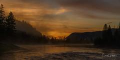 Sunrise on the Madison (craig goettsch) Tags: yellowstone2018 sunrise nature landsape mist nikon d850