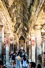 Angkor Wat Cambodia -62a (Yasu Torigoe) Tags: sony a99ii a99m2 sonyilca99m2 camboya cambodia angkor siem templo temple khmer architecture ancient ruins stonework siemreap history histoire building carving art surreal sculpture structure travel archeology thebestshot flickr best buddha buddhist hindu shiva devatas deity