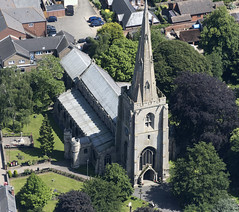 All Saints Church in Holbeach - aerial (John D Fielding) Tags: church holbeach lincs lincolnshire above aerial nikon d810 hires highresolution hirez highdefinition hidef britainfromtheair britainfromabove skyview aerialimage aerialphotography aerialimagesuk aerialview drone viewfromplane aerialengland britain johnfieldingaerialimages fullformat johnfieldingaerialimage johnfielding fromtheair fromthesky flyingover