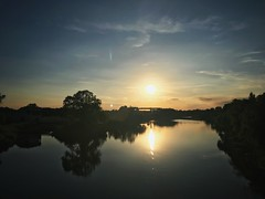 Sunset in Havelberg (lukemarkof) Tags: outdoor style happy depth germany teamyoungmarkofgoham bikepacking flashpacking challenging interest fun shadow funky holiday touring classic play art travel biketouring view teamyoungmarkof special exposure light dark exotic