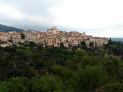 perched village of tourettes sur loup (angelinas) Tags: perched villages mountains provence frenchriviera france landscapes paysages paessggio