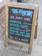 Pub Chalk Board Norwich July 2018 B (symonmreynolds) Tags: pub chalkboard norwich july 2018 norfolk