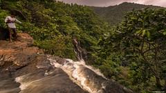 On The Brink.... (Neha & Chittaranjan Desai) Tags: waterfall dang gujarat india landscape forest jungle monsoon travel slow shutter long exposure