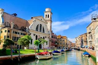 Zattare. Venice, Italy