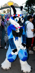 Call Me Lae (SnapperGee) Tags: anthro anthropomorphic comiccon furry fursuit sdcc sandiego blue ear ears lae laetansx thatsfurredup wolf pup pupper mutt canine costume tongue paw paws cosplay cosplayer