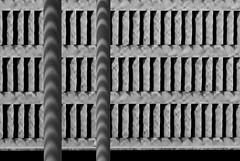 . . . . sun visors . . . . (christikren) Tags: austria architecture abstract blackwhite building christikren facade geometry lines monochrome offices panasonic photography shadow windows pattern