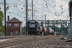 Morris Interlocking (Dan A. Davis) Tags: ns norfolksouthern conrail csao conrailsharedassetsoperations gp382 wpbs03 freighttrain railroad locomotive train pa pennsylvania