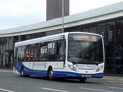 Ross Travel - Castleford (Hesterjenna Photography) Tags: sn12avm bus coach psv alexanderdennis alexander enviro200 enviro ross transport travel castleford pontefract yorkshire westyorkshire