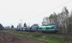 Siemens ER20 Hercules Diesel Locomotief van Enercon 223 156 (92 80 1223 156-1 D-EGOO) met staaltrein te Salzbergen (daniel_de_vries01) Tags: siemens er 20 van enercon 223 156 92 80 1223 1561 d egoo met staaltrein te salzbergen er20 hercules diesel locomotief