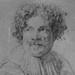 VAN DYCK Antoon - Portrait de Simon de Vos (drawing, dessin, disegno-Louvre RF662) - Detail 6