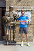 Me alongside a knight's armor with London Marathon bib number in hands (marcoverch) Tags: londonmarathon2018 london england vereinigteskönigreich gb man mann people menschen weapon waffe ancient alt war krieg armor rüstung adult erwachsene military militär protection schutz old competition wettbewerb guard bewachen knight ritter helmet helm person portrait porträt historic historisch soldier soldat building gebäude travel reise bee harbour landschaft day nikkor seaside nyc analog port world knightsarmor londonmarathon bibnumber hands