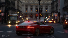 F-Type (Ghost=) Tags: jaguar ftype red paris gt sport ps4