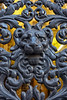 The Face at the Gates (Gary Burke.) Tags: door gate iron architecture art ornate iledefrance touristattraction travel wanderlust tourism paris france vacation citylife cityliving urban city traveling europe european klingon65 garyburke urbanphotography travelphotography citystyle french sony a6300 mirrorless sonya6300 cityoflights historical lion face artistic outdoor building parisian îledelacité 9tharrondissement citystreets metal doorway
