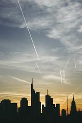20180420-DSC3789 (A/D-Wandler) Tags: frankfurtammain hessen deutschland skyline wolkenkratzer sonnenuntergang blauestunde silhouette hochhaus architektur gebäude himmel wolken linien