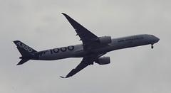 D18945.  Airbus A350-1000 XWB. (Ron Fisher) Tags: aircraft airliner airbus airbusa3501000xwb farnboroughairshow aeroplane airshow