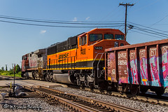 BNSF 1400 | EMD SD60M | BNSF Thayer South Subdivision (M.J. Scanlon) Tags: atsf620 atchisontopekasantafe bn bn9209 bnsf1400 bnsf620 bnsf8190 bnsf9209 bnsfrailway bnsfthayersouthsubdivision burlingtonnorthern business c449w canon capture cargo commerce digital emd eos engine freight ge haul horsepower image impression landscape locomotive logistics mjscanlon mjscanlonphotography membly memphis merchandise mojo move mover moving outdoor outdoors perspective photo photograph photographer photography picture rail railfan railfanning railroad railroader railway sd60m santafe scanlon steelwheels super tennessee track train trains transport transportation triclops view warbonnet wow ©mjscanlon ©mjscanlonphotography