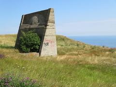 UK - Kent - Near Hougham - Sound mirror WW2 installation - a forerunner of radar (JulesFoto) Tags: uk england kent centrallondonoutdoorgroup clog hougham northdownsway englandcoastpath