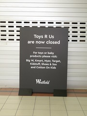 Toys R Us Tea Tree Plus (Modbury) CLOSED (RS 1990) Tags: teatreeplus teatreeplaza teatreegully modbury adelaide southaustralia thursday 26th july 2018 closed shut outofbusiness store empty